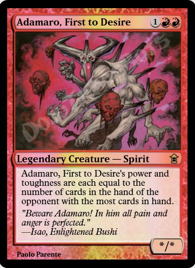 Adamaro, First to Desire FOIL