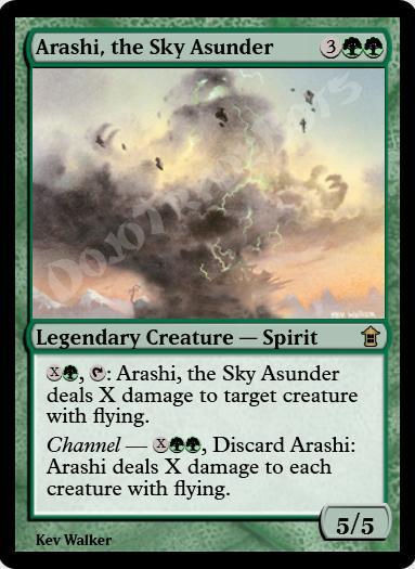 Arashi, the Sky Asunder