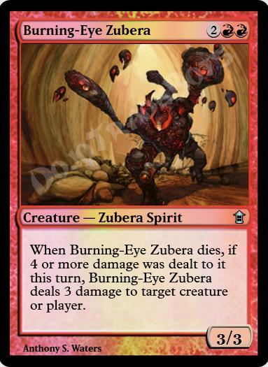 Burning-Eye Zubera FOIL