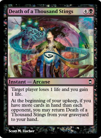Death of a Thousand Stings FOIL