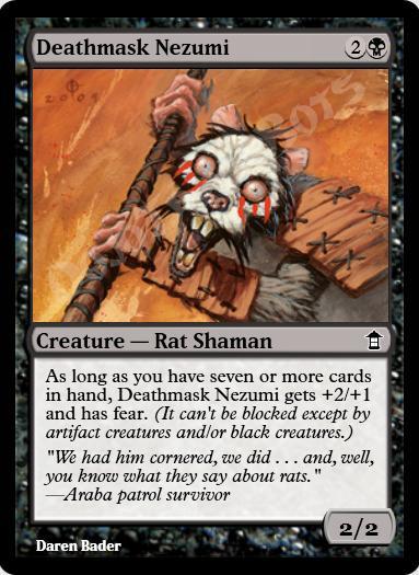Deathmask Nezumi