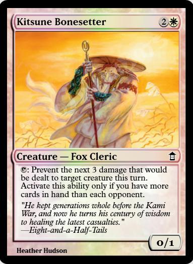 Kitsune Bonesetter FOIL