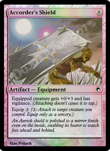 Accorder's Shield FOIL