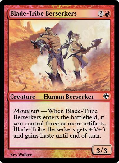 Blade-Tribe Berserkers FOIL