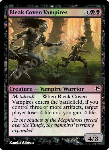 Bleak Coven Vampires FOIL