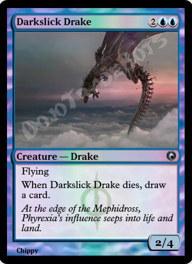 Darkslick Drake FOIL