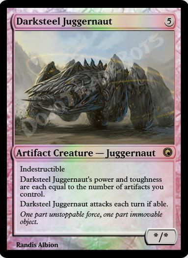 Darksteel Juggernaut FOIL