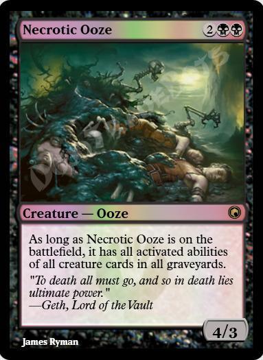 Necrotic Ooze FOIL