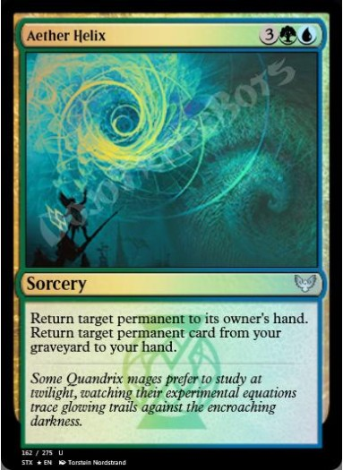 Aether Helix FOIL