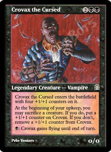Crovax the Cursed FOIL