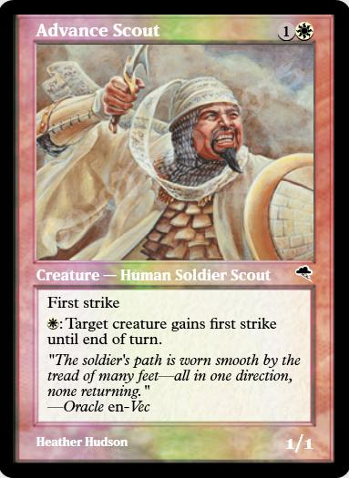 Advance Scout FOIL