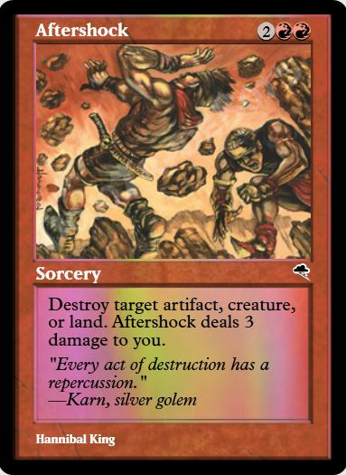 Aftershock FOIL