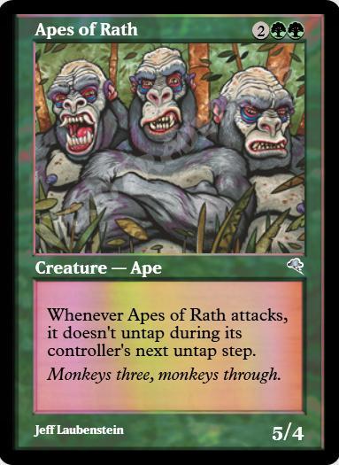 Apes of Rath FOIL
