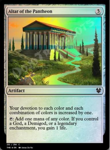 Altar of the Pantheon FOIL