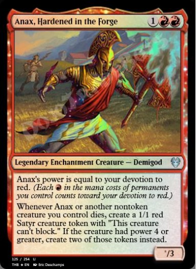 Anax, Hardened in the Forge FOIL