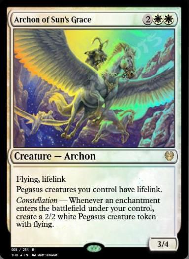Archon of Sun's Grace FOIL
