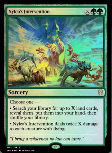 Nylea's Intervention FOIL