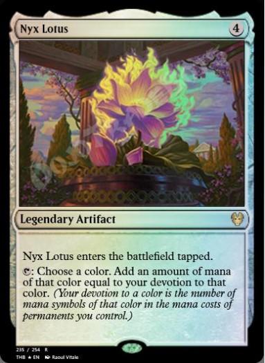 Nyx Lotus FOIL