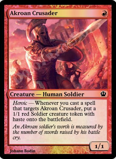 Akroan Crusader FOIL