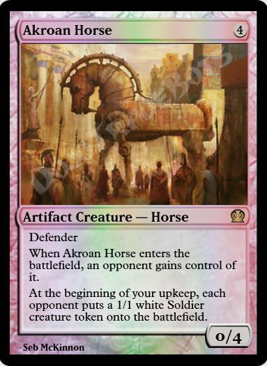 Akroan Horse FOIL