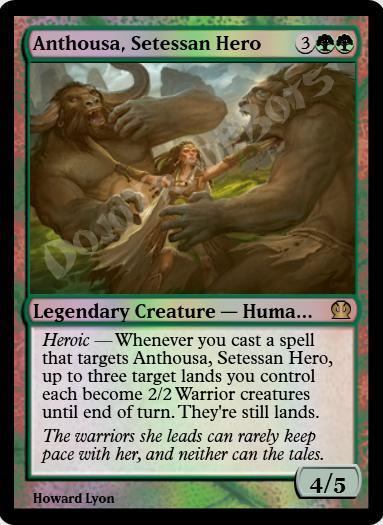 Anthousa, Setessan Hero FOIL