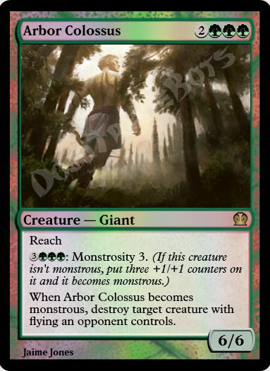 Arbor Colossus FOIL