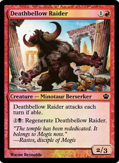 Deathbellow Raider FOIL