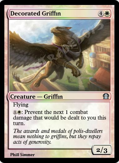 Decorated Griffin FOIL