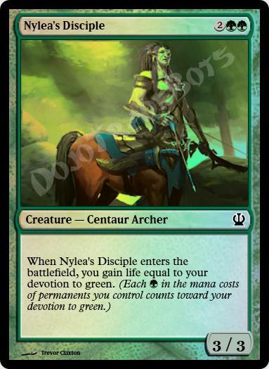 Nylea's Disciple FOIL