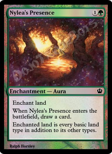 Nylea's Presence FOIL