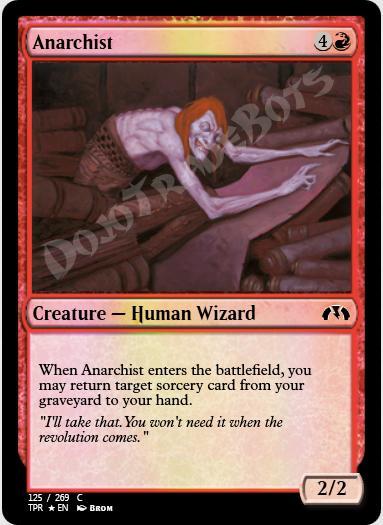 Anarchist FOIL