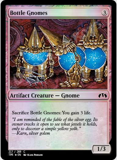 Bottle Gnomes FOIL