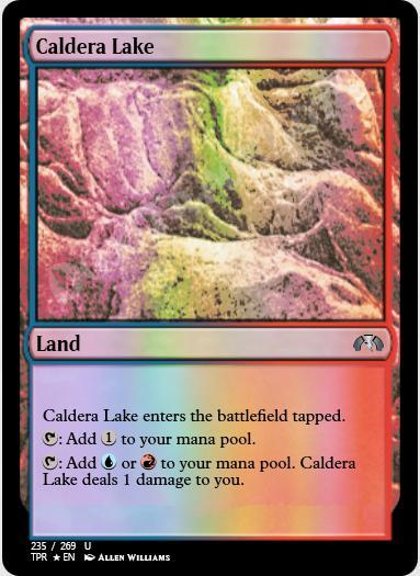 Caldera Lake FOIL