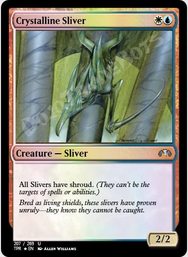 Crystalline Sliver FOIL