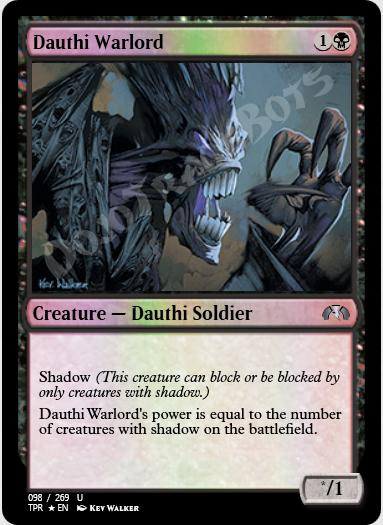 Dauthi Warlord FOIL
