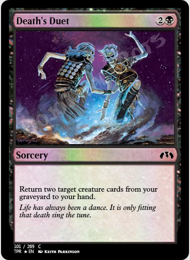 Death's Duet FOIL