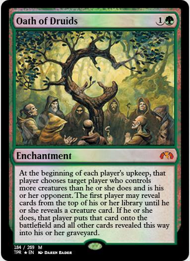 Oath of Druids FOIL