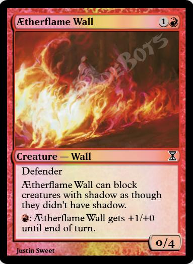 Aetherflame Wall FOIL
