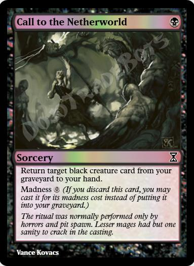 Call to the Netherworld FOIL
