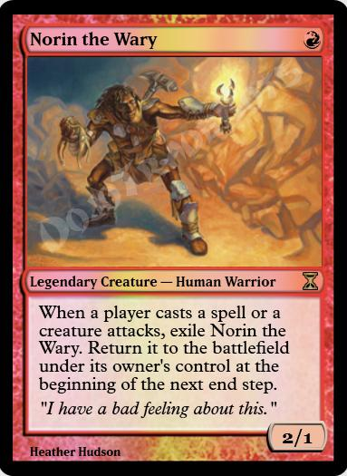 Norin the Wary FOIL
