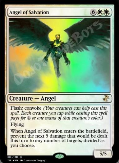 Angel of Salvation FOIL