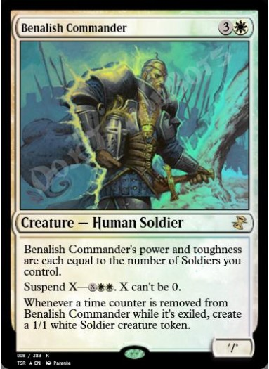 Benalish Commander FOIL