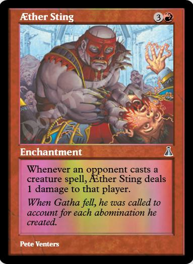 Aether Sting FOIL