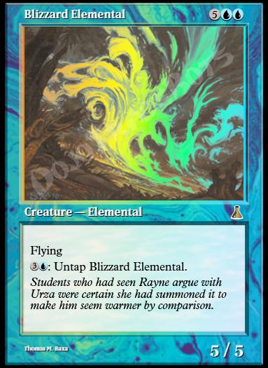 Blizzard Elemental FOIL