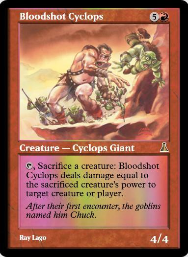 Bloodshot Cyclops FOIL