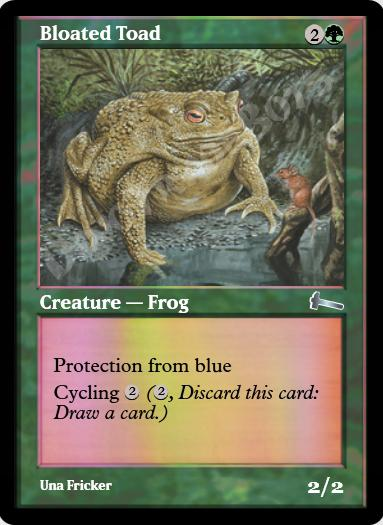 Bloated Toad FOIL