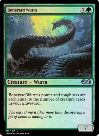 Boneyard Wurm FOIL