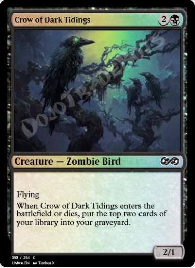 Crow of Dark Tidings FOIL