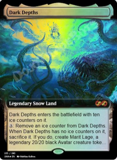 Dark Depths (Borderless) FOIL