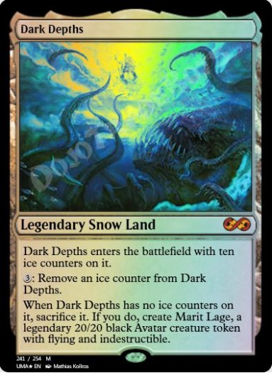 Dark Depths (Regular) FOIL